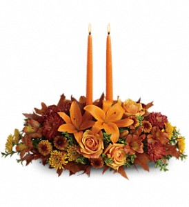 Family Gathering Centerpiece by George Thomas Florist