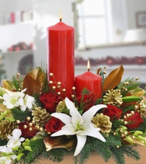 Holiday Centerpiece by George Thomas