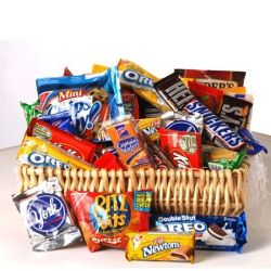 Snack Basket by George Thomas Florist