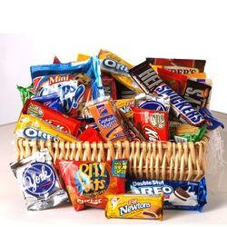 Snack Basket by George Thomas Florist
