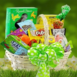 Easter Treats Basket by George Thomas Florist