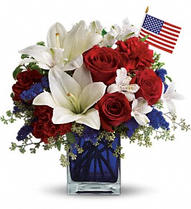 America the Beautiful by George Thomas Florist
